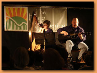 Tapestry - Harp and Acoustic Guitar in Concert