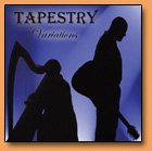 Tapestry Harp and Acoustic Guitar - Variations CD